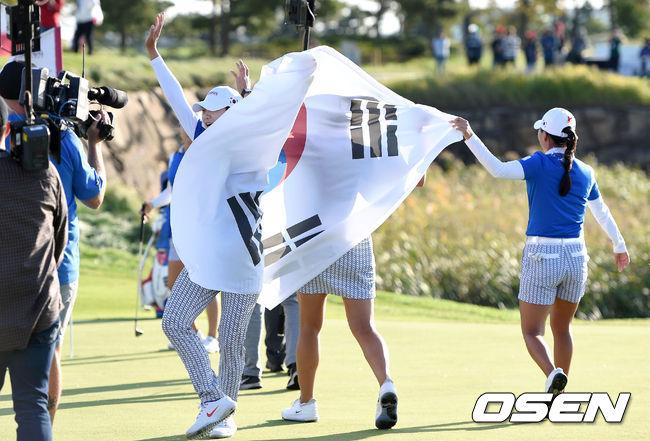 [사진]팀 코리아,LPGA 우승은 우리의 것
