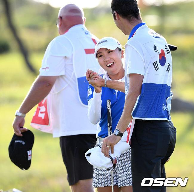 [사진]LPGA 우승 행복한 김인경