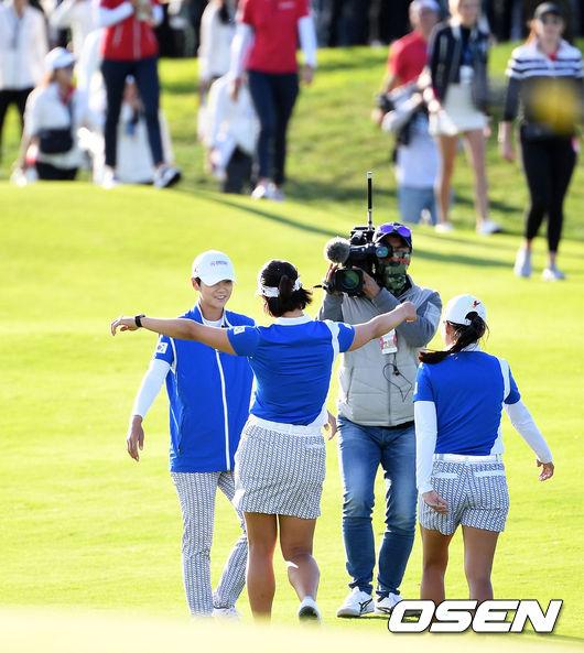 [사진]한국 여자골프 LPGA 우승 쾌거