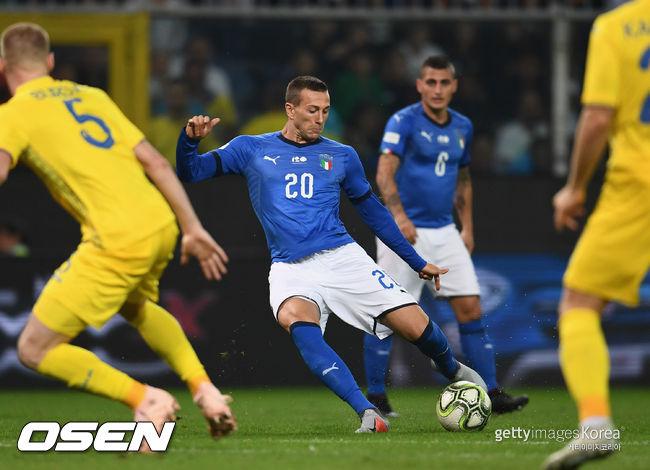 이탈리아, 우크라이나와 1-1 무승부... 만치니 불만
