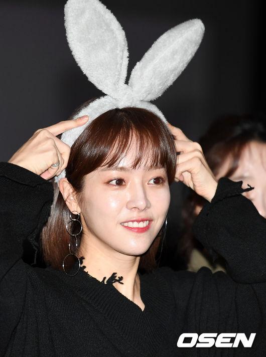 [사진]한지민, 이렇게 깜찍한 토끼 봤어?