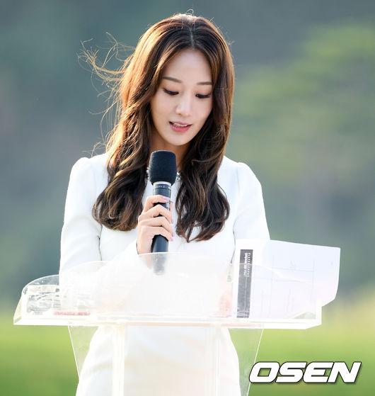 [사진]박신영 아나운서,눈부신 비주얼