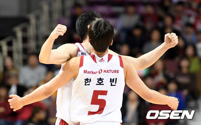 [사진]한호빈, 승리 포효