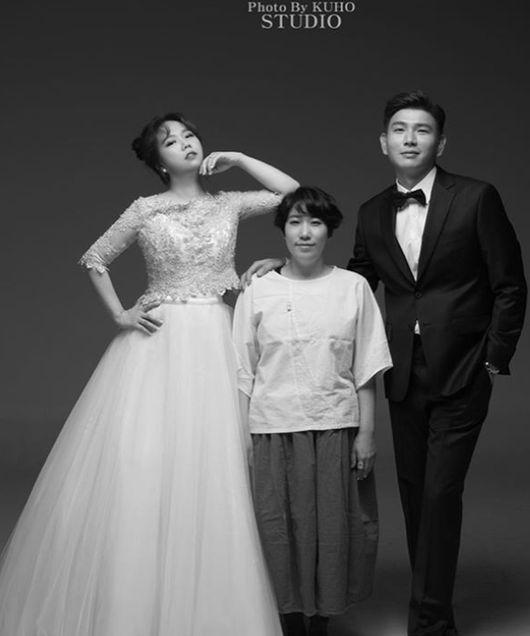 홍현희♥제이쓴, 대박 웨딩화보→김영희 난 왜 저기있나 폭소(종합)[Oh!쎈 이슈]