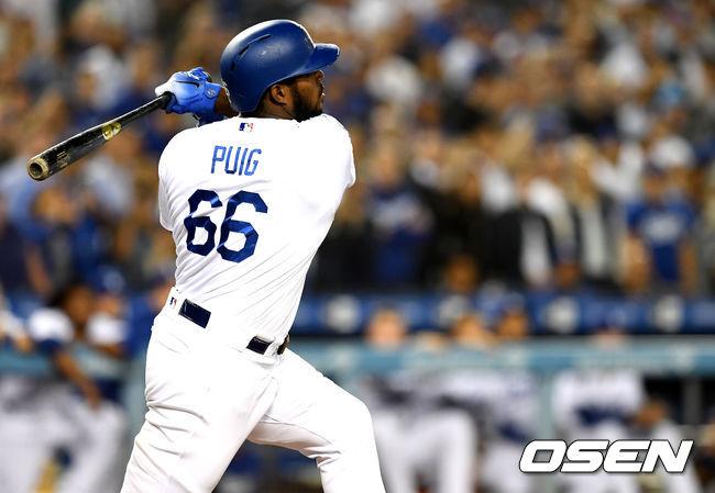푸이그, 다저스에서 마지막 시즌? 신경 안 써