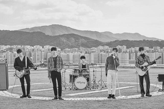 엔플라잉, 26일 신곡 '꽃' 발표.. FLY HIGH PROJECT 시작
