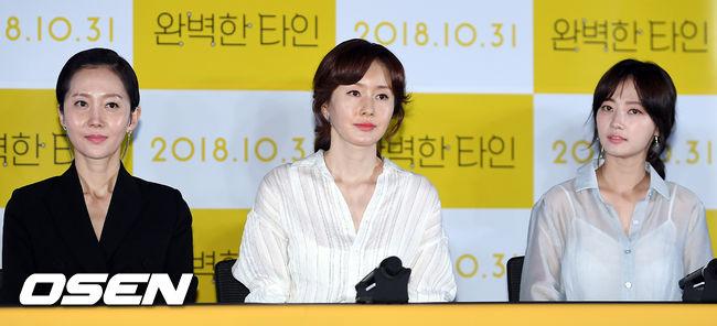 [사진]염정아-김지수-송하윤, 완벽한 타인의 세 여배우