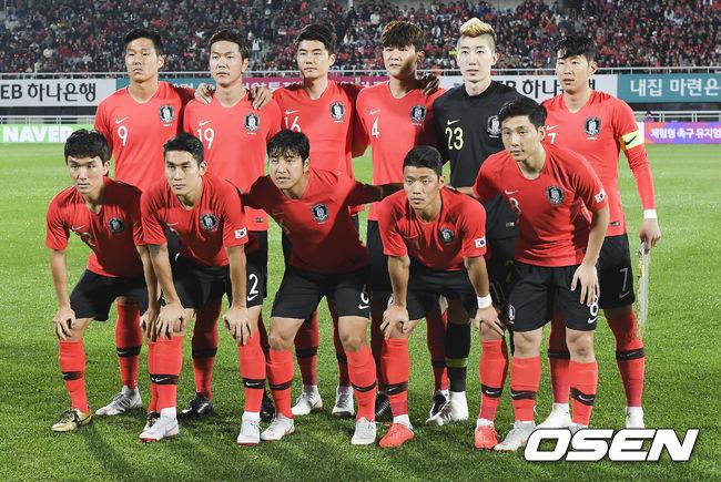 [사진]파나마전 한국 축구대표팀 베스트일레븐