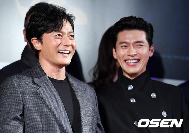 [사진]장동건-현빈,멋진 미소