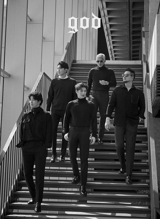 god, 20주년 프로젝트 완전체 사진 공개..오늘(19일) 콘서트 티켓 오픈