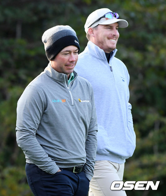 [사진]미소 짓는 PGA 더 CJ컵 단독 선두 체즈 리비