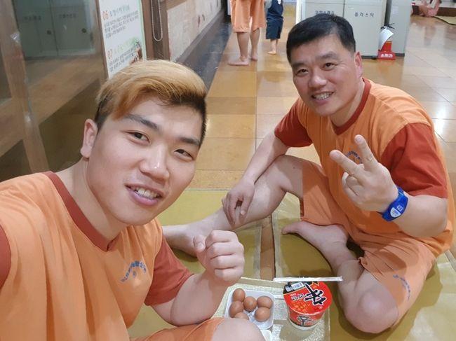 아버지와 함께하고 싶다...고향 대전서 승리 갈망하는 임동환