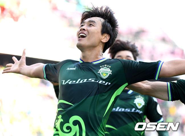 이동국 결승골 전북, 인천 3-2 역전승... 전 구단 승리 우승