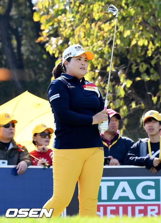 [사진]박인비, 끝까지 집중