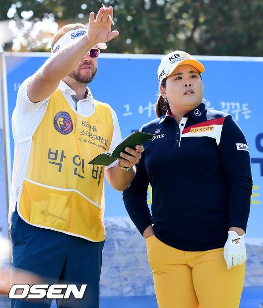 [사진]박인비, 방향을 읽어라