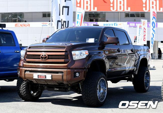 [사진] 넥센스피드레이싱 6R, 픽업 트럭 콘테스트 화려한 위용