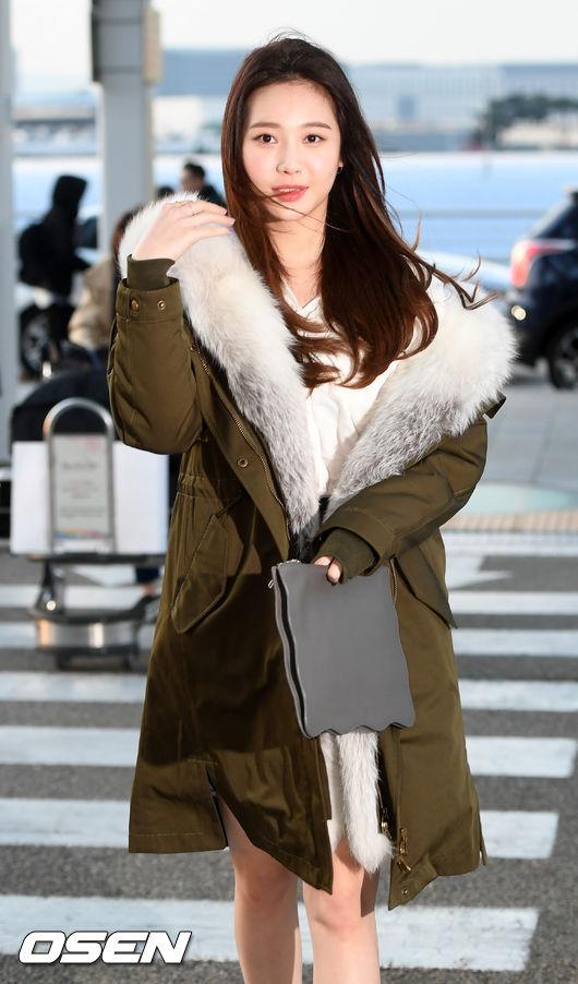 [사진]유라,바람이 불어도 굴욕없는 미모