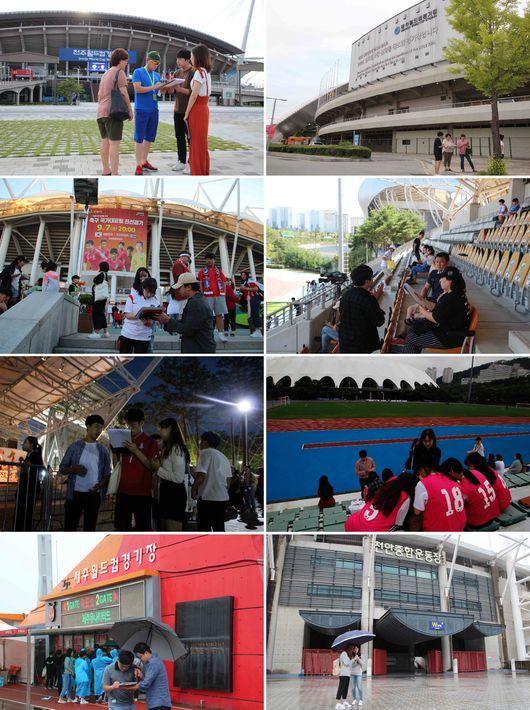 한국 개최가 최선...2023 아시안컵 유치 위해 대학생들 나섰다