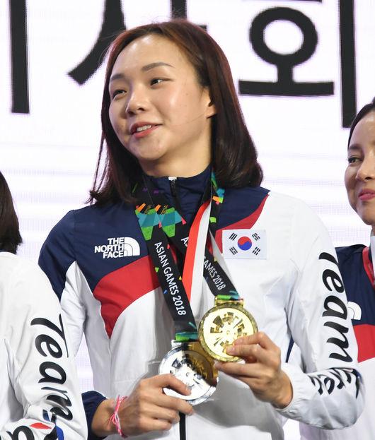 AG 수영 금메달리스트 김서영, 올댓스포츠와 매니지먼트 계약