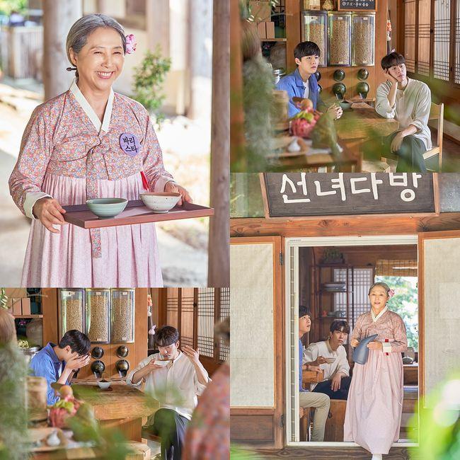 계룡선녀전 고두심, 서방 후보 윤현민X서지훈과 첫 대면 [Oh!쎈 컷]