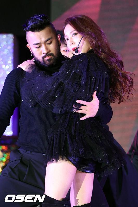 [사진]보아,댄서와 함께 화려한 안무