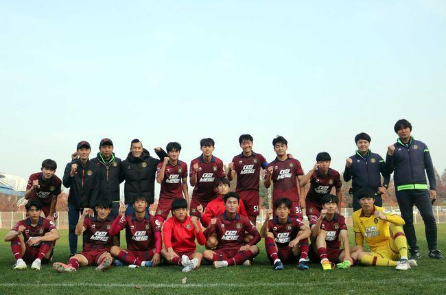 대전, 2018 R리그 남부권역 우승