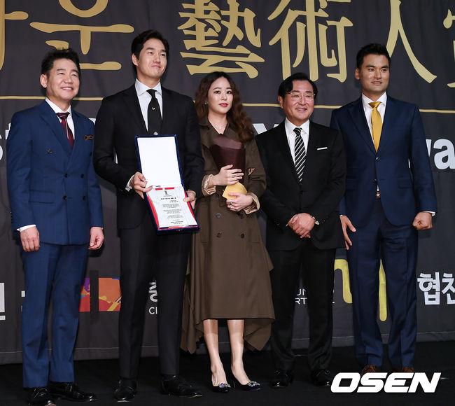 [사진]유지태-김효진 부부, 행복한 포토타임