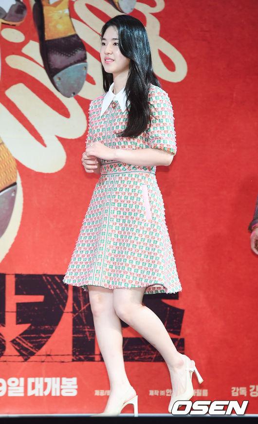 [사진]스윙키즈 박혜수,수줍은 입장