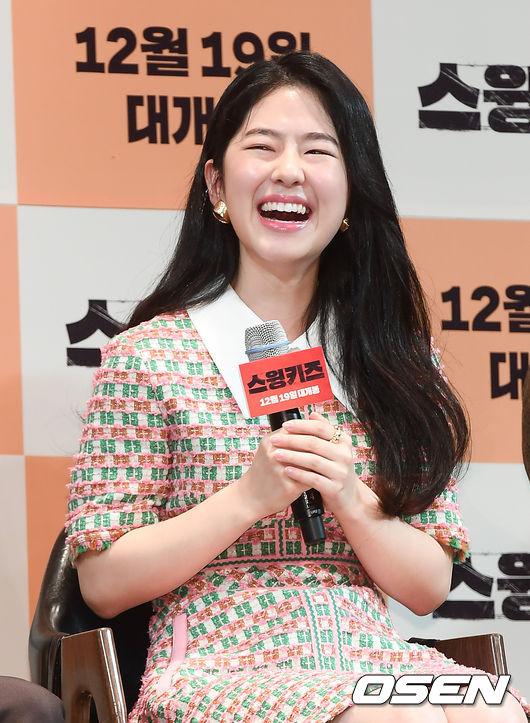 [사진]스윙키즈 박혜수,웃음꽃 활짝