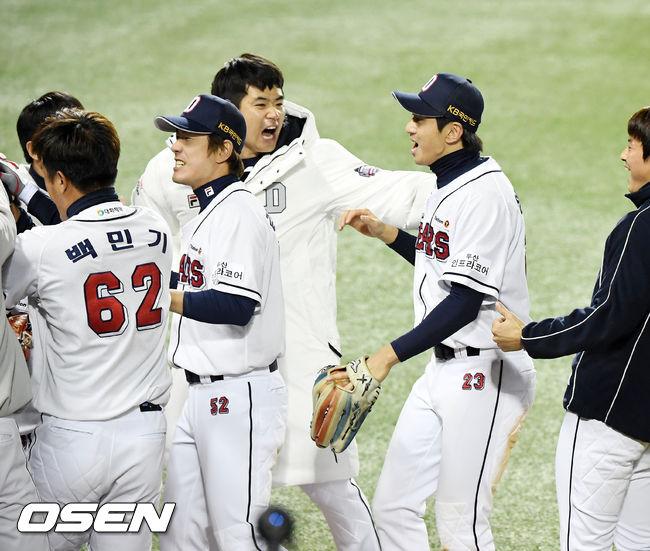 [사진]김재환,이렇게 기쁠수가