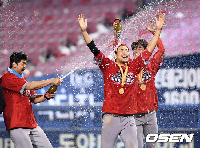 [사진]한동민,내가 KS의 MVP