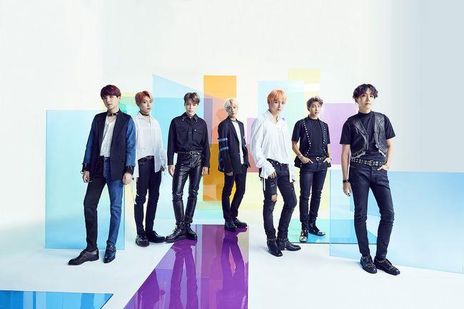 방탄소년단, 日오리콘 주간 싱글차트 1위..해외 아티스트 최초 발매 첫주 40만 포인트