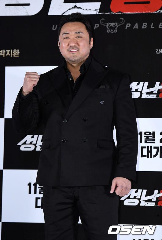 마동석, 범죄도시 남우주연상 수상..열일의 아이콘(종합)[Oh!쎈 이슈]