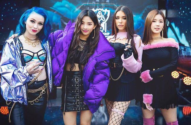 (여자)아이들 미연X소연 참여 K/DA, 신곡 POP/STAR MV 5천만뷰 돌파