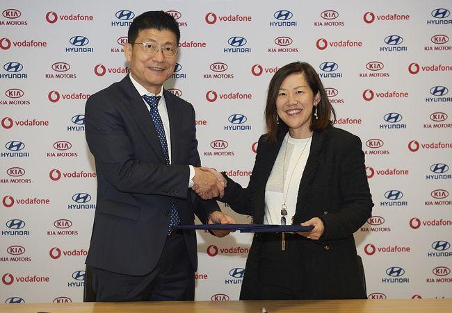 현대·기아차, '보다폰(Vodafone)' 손잡고 새해 유럽서 커넥티드카 서비스 개시