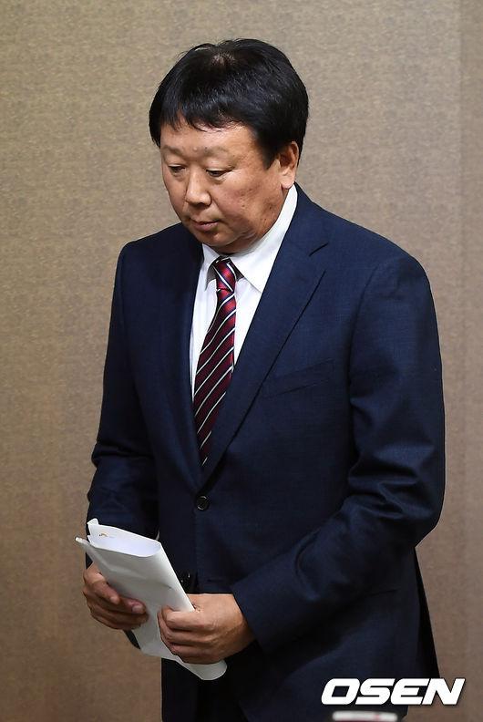 [사진]선동열 감독, 대표팀 감독 사임