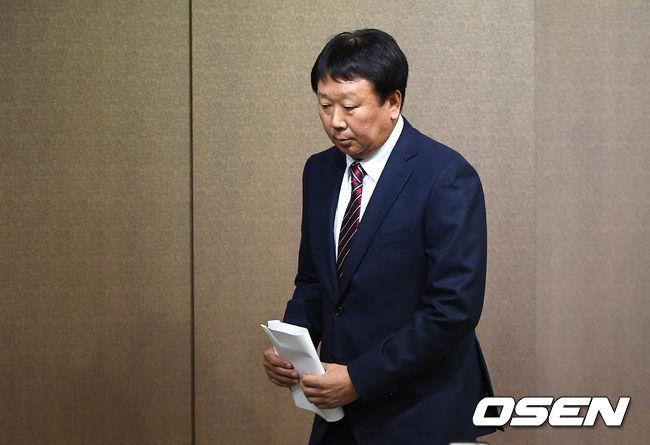 [사진]선동열 감독, 국가대표팀 감독 사임
