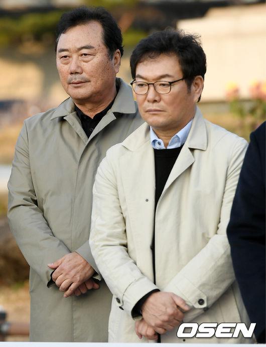 [사진]유승안 감독-이순철 위원, 굳은 표정