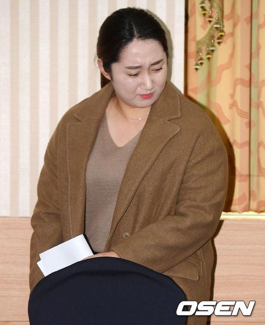 [사진]기자회견 참석한 팀 킴 김영미