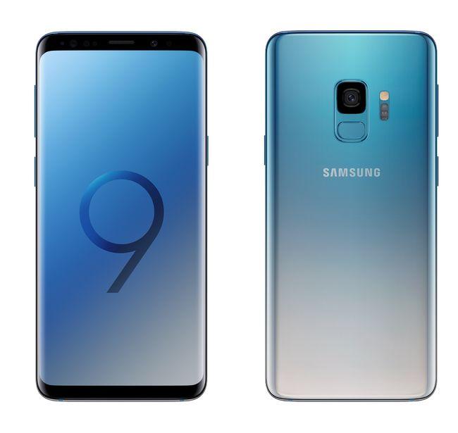 삼성전자, 갤럭시 S9에 '폴라리스 블루 색상 추가