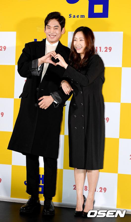 [사진]최준영-류아벨,아름다운 커플