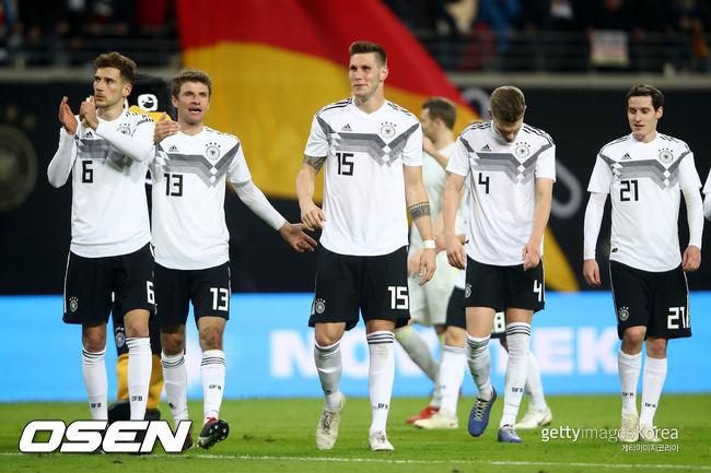 사네 결승골 독일, 러시아 3-0 완파