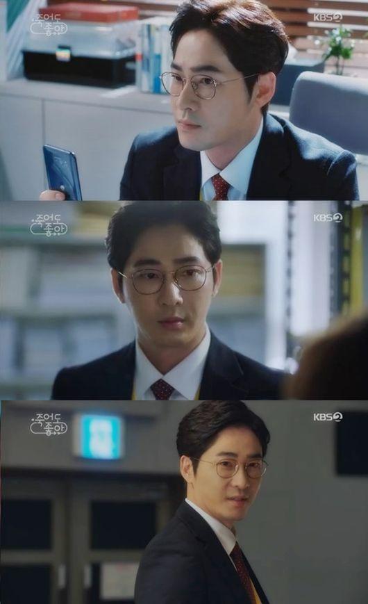 '죽어도 좋아' 강지환, 빈틈 없는 '꽉찬 내공'...역대급 캐릭터