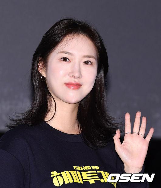 [사진]조승희,아름다운 손인사