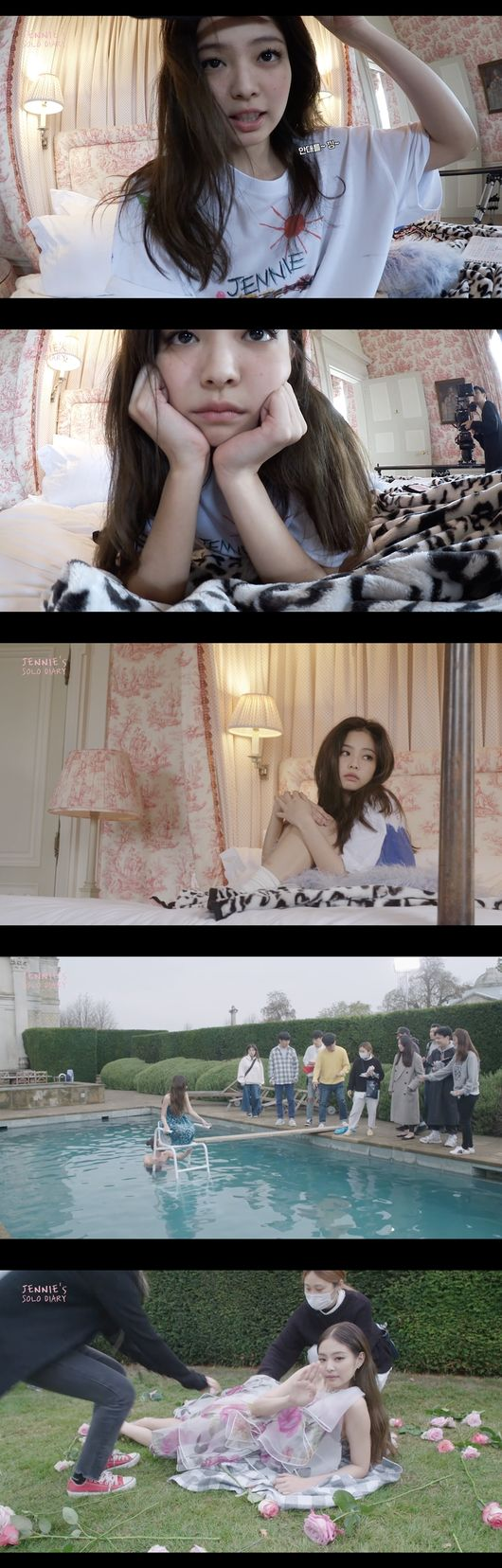 블랙핑크 제니, 솔로 MV 5500만뷰 돌파…英 런던촬영 비하인드 공개