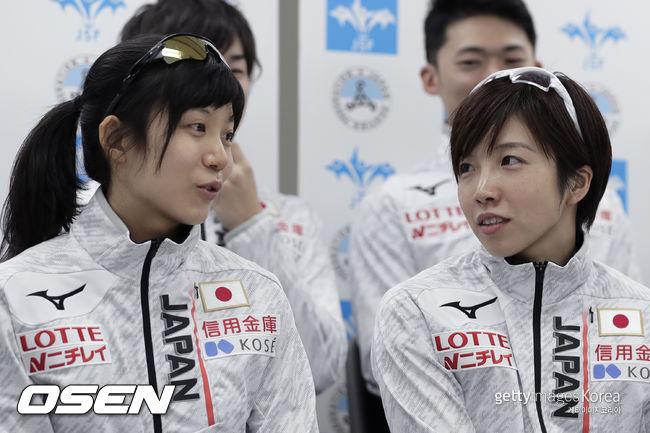 日 다카기-고다이라, 빙속 WC 1차 여자 1000m 銀·銅