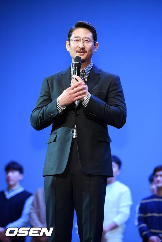[사진]박용택,LG 선수단을 대표로 인사