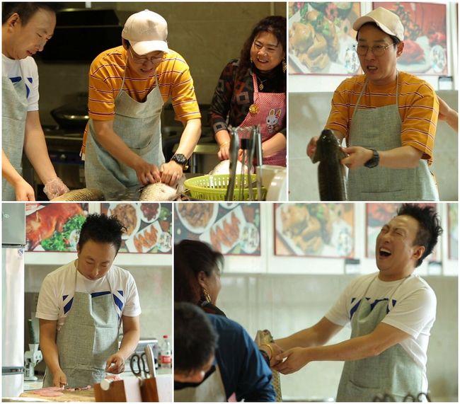 '아내의 맛' 이휘재X박명수, 함진부부 부모와 100인분 중식요리 도전[Oh!쎈 컷]