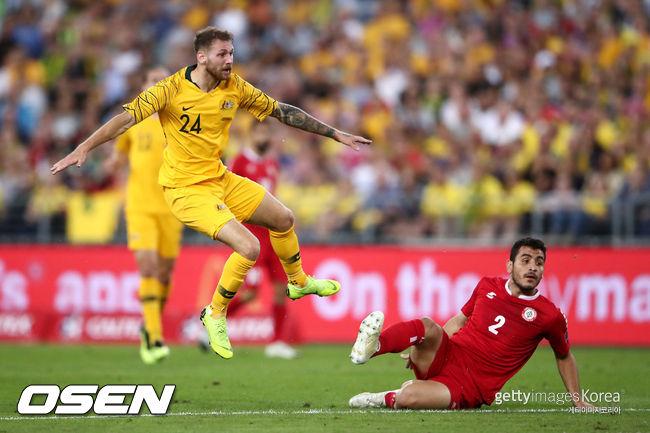 한국과 비긴 호주, 레바논 3-0 완파...3경기 2승1무