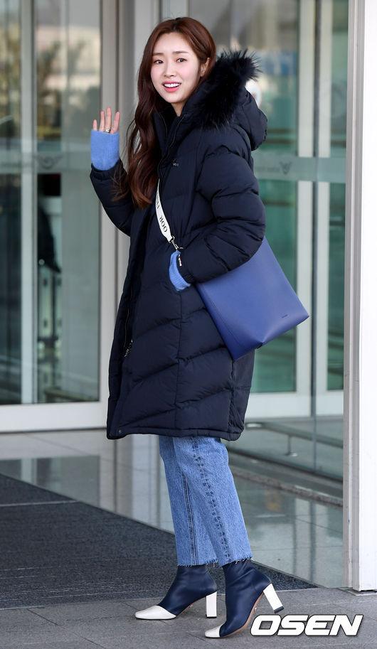 [사진]차정원, 미소 전하며 출국